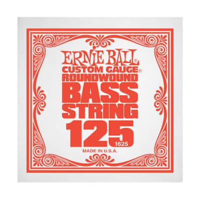 Ernie Ball 1625 125 Roundwound Bass Single String