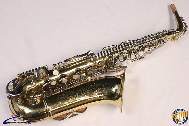 Vintage 1968 Conn Shooting Star Alto Saxophone, HFC, Good Condition, Sax  #26030