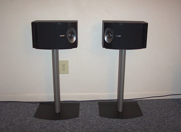 BOSE 201V Speakers FS 1 Floor Stands Absolutely MINT Condition 201 V