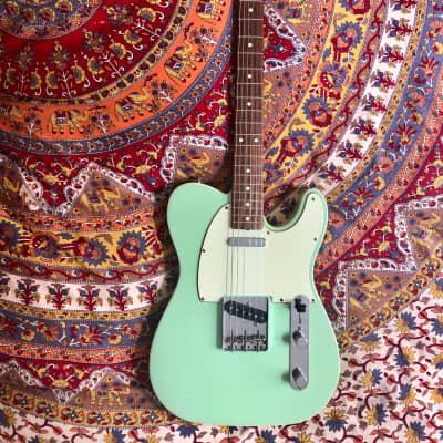Fender American Vintage Reissue AVRI 62 Custom Telecaster Surf Green 2009 for sale