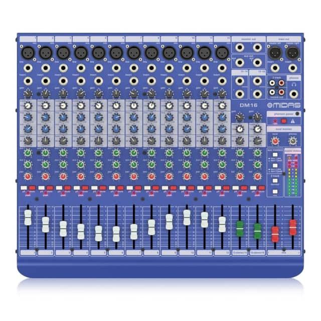 Midas DM16 Analogue Mixer image
