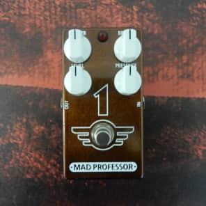 Mad Professor Mad Professor One Overdrive / Reverb Pedal for sale