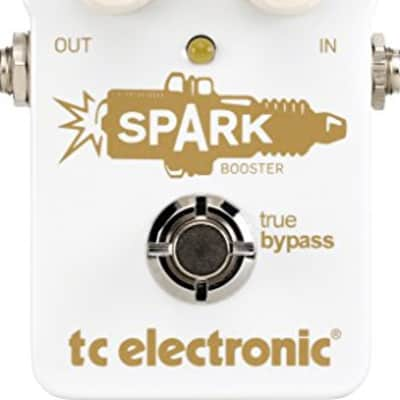 TC Electronic SPARKBOOSTER, Spark Booster Pedal with Up to 26dB of Gain