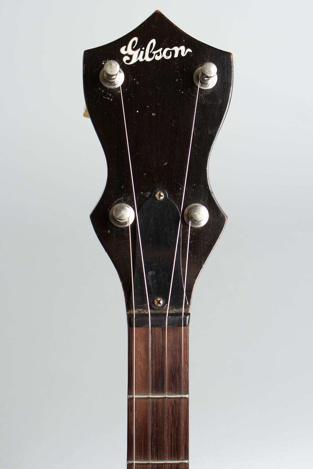 Gibson  RB-00 5 String Banjo (1940), ser. #F559-1, period black hard shell case.