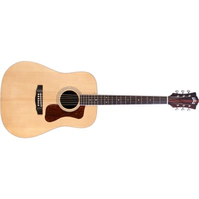 Guild D-260E Deluxe Westerly Dreadnought Electro Acoustic, Natural for sale