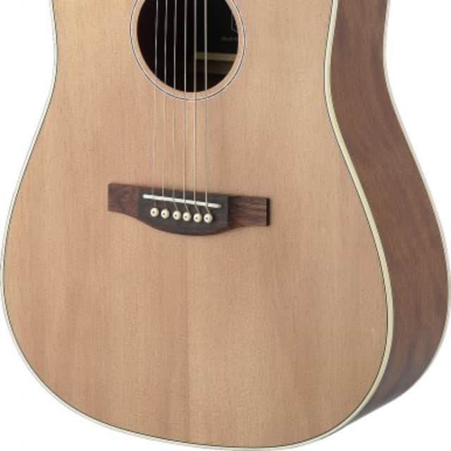 James Neligan Asyla Series Dreadnought Guitar w/ Solid Spruce Top, Lefthanded image