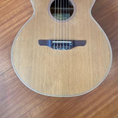 Takamine EAN60c 2002 Natural Satin Finish Nylon Guitar