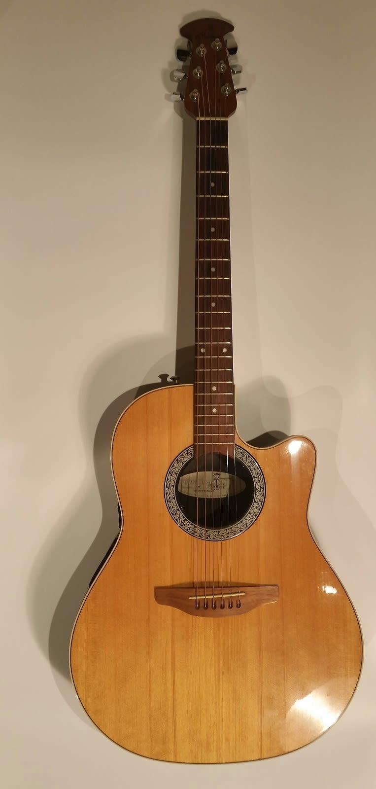 ovation 1861 standard balladeer acoustic electric guitar reverb. Black Bedroom Furniture Sets. Home Design Ideas