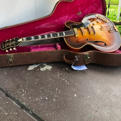 Epiphone  Zephyr Emporer Regent 1953 Tobacco burst for sale