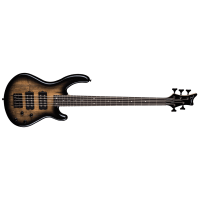 NEW DEAN EDGE 2 5-STRING - CHARCOAL BURST for sale
