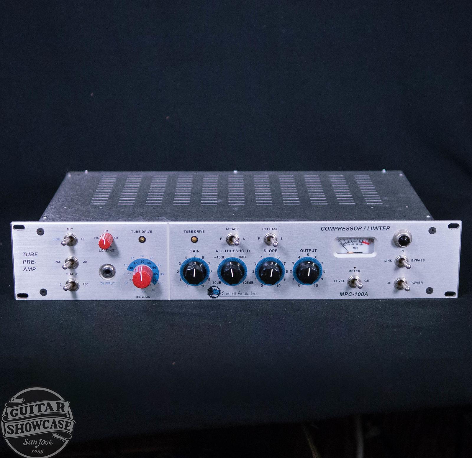 Summit Audio MPC-100A Tube Preamp / Compressor / Limiter