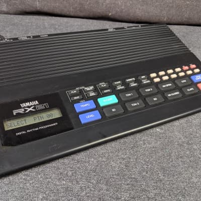 Vintage Yamaha RX21 Digital Rhythm Programmer Drum Machine w/ Power Supply