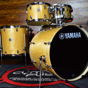 "Yamaha SBP2F50NW Stage Custom Birch 10"" / 12"" / 16"" / 22"" / 14x5.5"" 5pc Shell Pack"