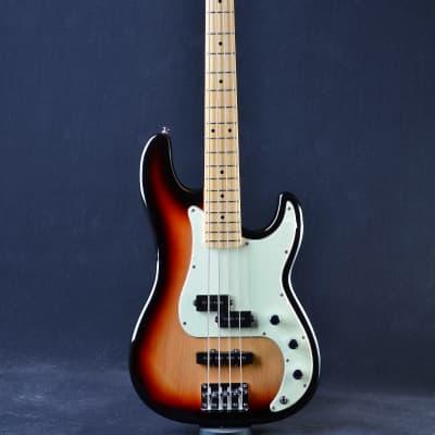 Tagima TW-65 P-J Bass Sunburst/Mint Green for sale