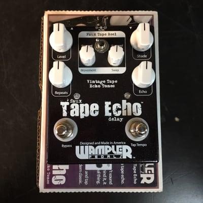 Wampler Faux Tape Echo Noir