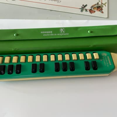 Hohner Vintage Melodica Soprano (Near Mint ) 1970s Green