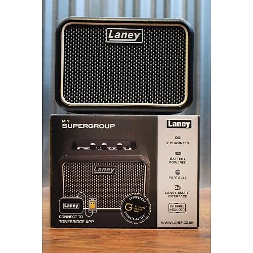 laney mini supergroup battery powered portable guitar combo reverb. Black Bedroom Furniture Sets. Home Design Ideas