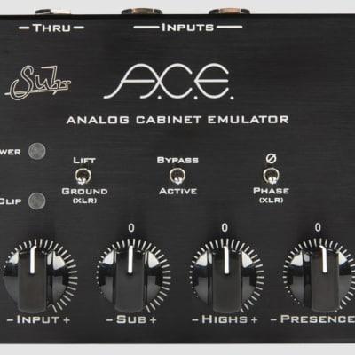 Suhr A.C.E. Analog Cabinet Emulator 2018 Black