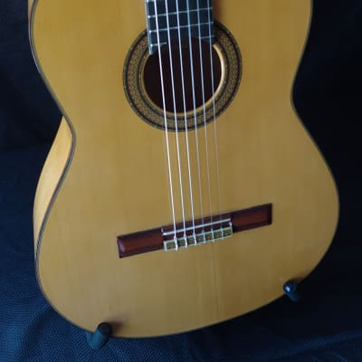 1971 M.G. Contreras 1a Signed Cypress and Spruce Flamenco Guitar for sale