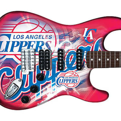 Woodrow Northender Guitar Los Angeles Clippers