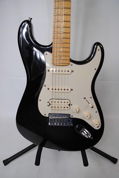 Fender American Deluxe Stratocaster Black | Reverb