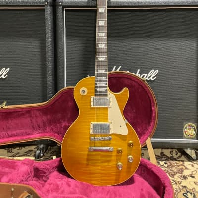 Gibson Custom, Art, Historic Les Paul R8 1997 Lemon Burst for sale