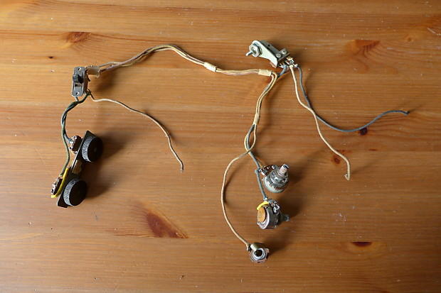 Awesome Vintage Fender Jazzmaster Wiring Harness W Pots Switch Reverb Wiring Digital Resources Operpmognl