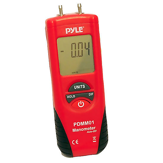 Pyle PDMM01 Digital Manometer with 11 Units of Measure