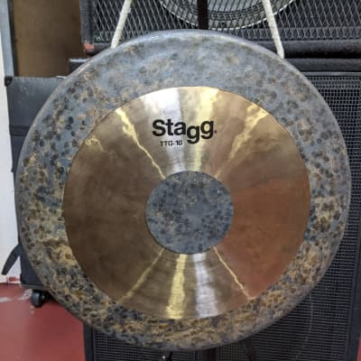 """NEW! Stagg 16"""" Tam Tam Gong With Mallet - Classic Sound - Killer Closeout Deal!"""