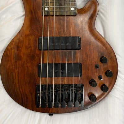 Curbow Petite 7 string 1990's Quilted bubinga for sale
