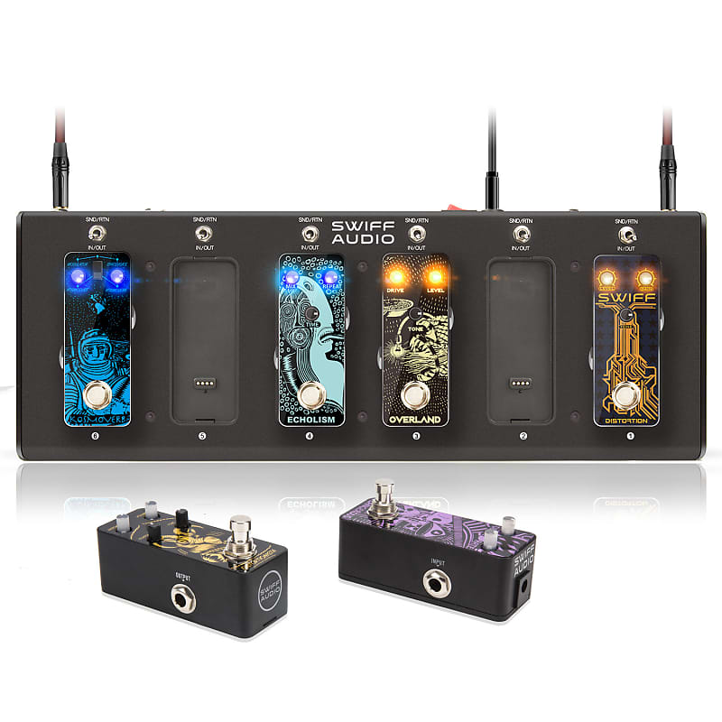 swiff cables free multi effect guitar pedals system u s reverb. Black Bedroom Furniture Sets. Home Design Ideas