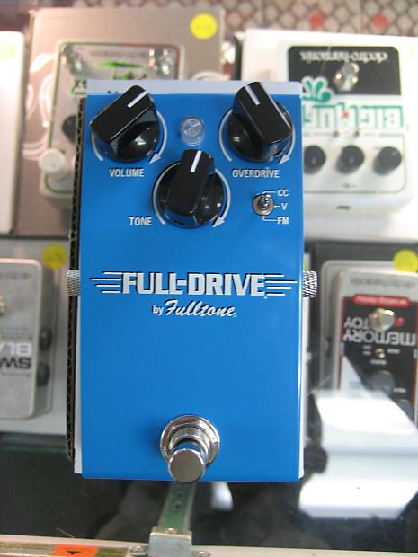 fulltone full drive fd 1 overdrive pedal reverb. Black Bedroom Furniture Sets. Home Design Ideas