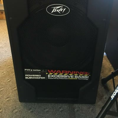"Peavey PVXp 15"" Powered Subwoofer -CLEARANCE!"