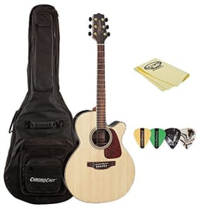 Takamine GN93CE Nex Cutaway Acoustic-Electric Guitar, with ChromaCast Gig Bag, Pick Sampler, & Polish Cloth for sale