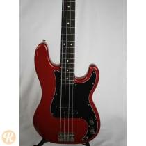 Fender Standard Precision Bass 1989 Crimson Red Metallic image