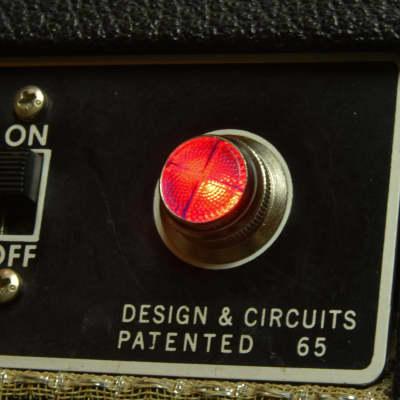 Invisible Sound Guitar amplifier Jewel Lamp Indicator amp jewel.  Model RC 01.  For pilot light