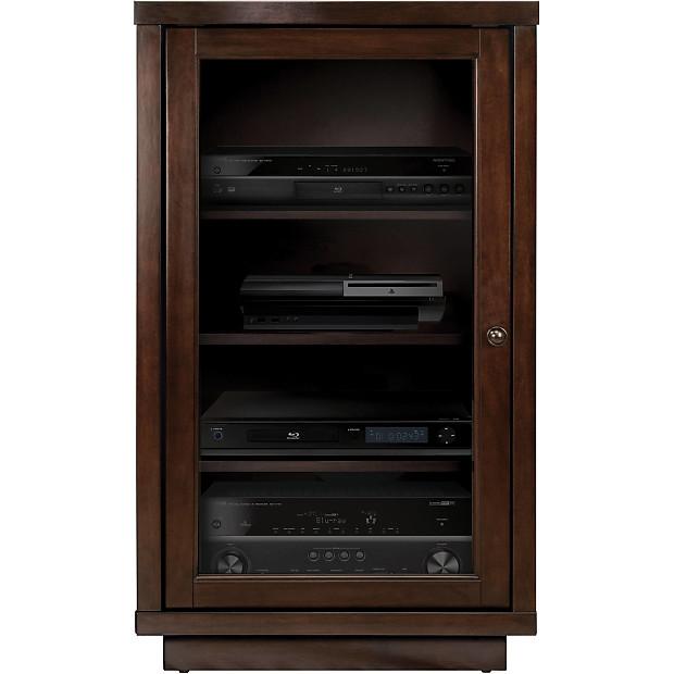 Bell O Atc402 Audio Video Component Cabinet Dark Espresso