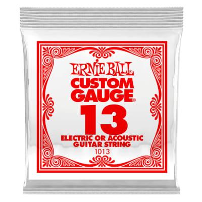 Ernie Ball .013 Single Plain Steel String