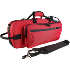 Protec PB301CTRX Red Contoured Trumpet Case - Free Shipping!