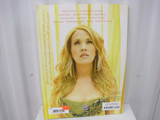 Carrie Underwood Carnival Ride Piano Vocal Guitar Chords   Reverb