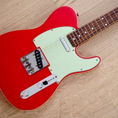 1997 Fender Telecaster Custom '62 Vintage Reissue TL62B-80TX Candy Apple Red Japan CIJ for sale