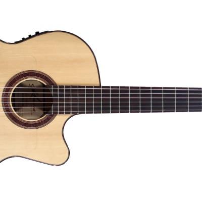 Kremona Flamenco Rosa Luna Acoustic/Electric Guitar for sale