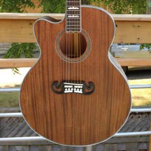 Fishbone's  Byron Series Acoustic Piezo Electric Jumbo BLK200-SC Lefty Mahogany Burst High Gloss for sale