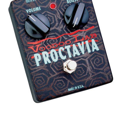 Voodoo Lab VP Proctavia Fuzz Octave Guitar Effects Pedal for sale