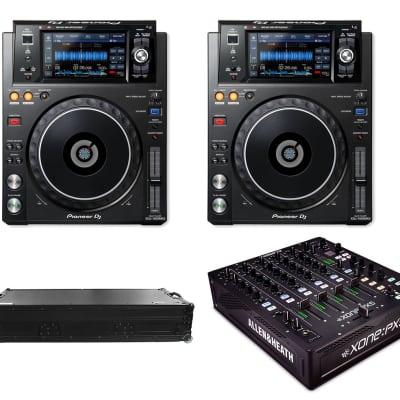 Allen & Heath Allen & Heath XONE:PX5 - 4+1 Channel DJ Mixer with Soundcard + (2) Pioneer DJ XDJ-1000MK2 - High-Performance Multi-Player DJ Deck with Touch Screen