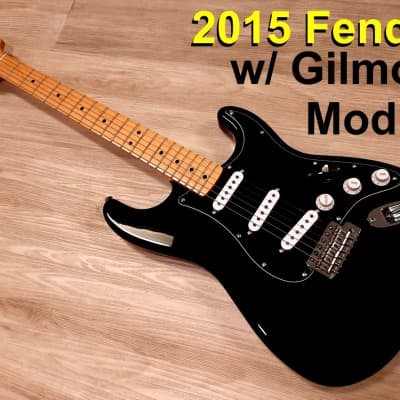 Fender 2015 Fender®  Stratocaster Electric Guitar Strat w/ Gilmour MOD Special Edition w/ HARDSHELL for sale