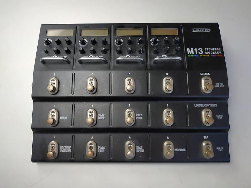 line 6 m13 stompbox modeler guitar multi effects fx delay reverb. Black Bedroom Furniture Sets. Home Design Ideas