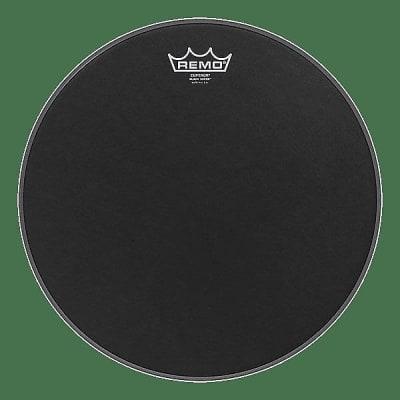 """Remo 16"""" Emperor Black Suede Drum Head w/ Video Link"""
