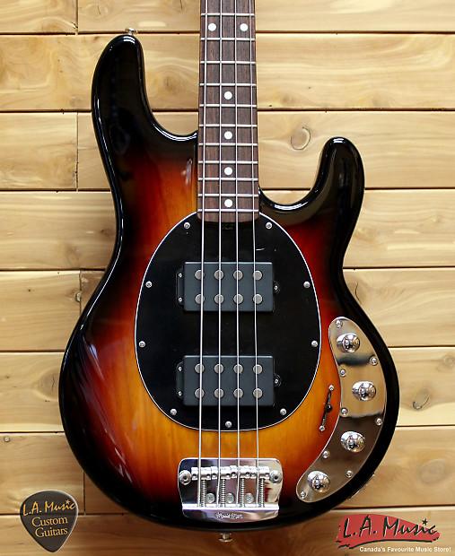 ernie ball music man stingray bass 4 string sunburst matching reverb. Black Bedroom Furniture Sets. Home Design Ideas