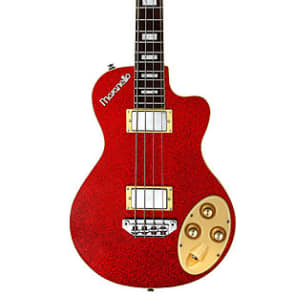 Italia Maranello Classic Bass Red Sparkle for sale